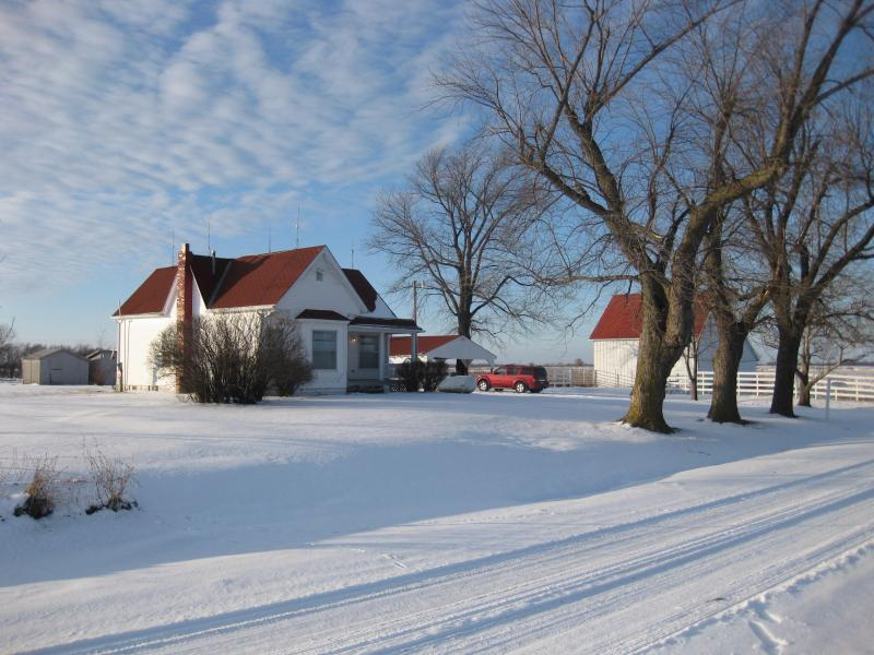 A Winter Afternoon at Red Bird Run Farms